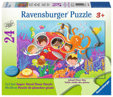 Load image into Gallery viewer, Deep Diving Friends 24pc Floor Puzzle