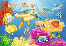 Load image into Gallery viewer, Vibrance Under the Sea 2x24pc Puzzle