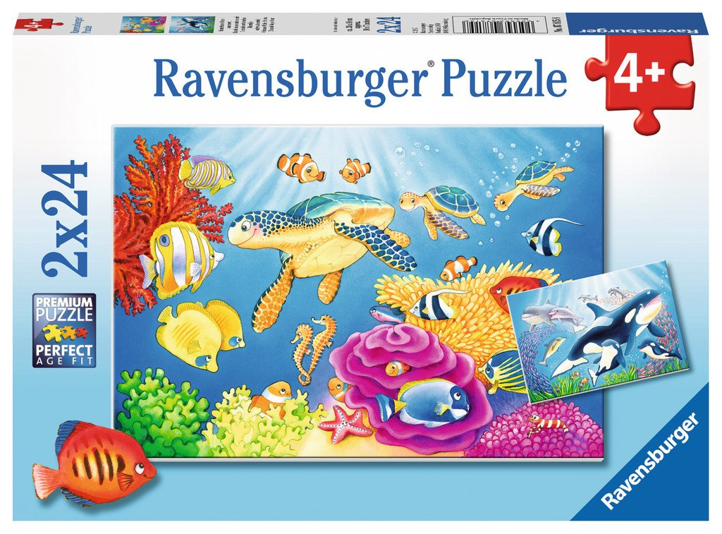 Vibrance Under the Sea 2x24pc Puzzle