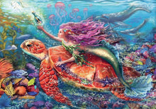 Load image into Gallery viewer, Mermaid Adventures 2x24pc Puzzle