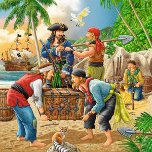 Adventure on the High Seas 3x49pc Puzzle