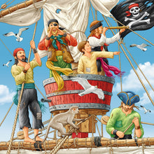 Load image into Gallery viewer, Adventure on the High Seas 3x49pc Puzzle
