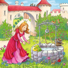 Load image into Gallery viewer, Rapunzel, Little Red Riding Hood, and The Frog Prince 3x49pc Puzzle