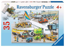 Load image into Gallery viewer, Busy Airport 35pc Puzzle