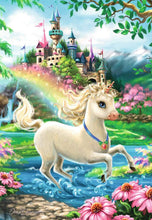 Load image into Gallery viewer, Unicorn Castle 35pc Puzzle