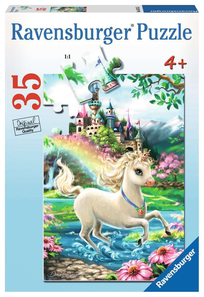 Unicorn Castle 35pc Puzzle