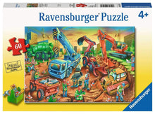 Load image into Gallery viewer, Construction Crew 60pc Puzzle