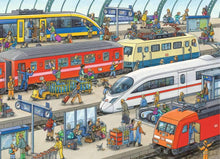Load image into Gallery viewer, Railway Station 60pc Puzzle