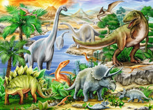 Load image into Gallery viewer, Prehistoric Life 60pc Puzzle