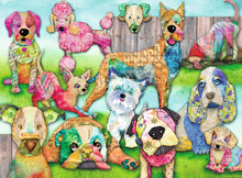 Load image into Gallery viewer, Patchwork Pups 150pc Puzzle