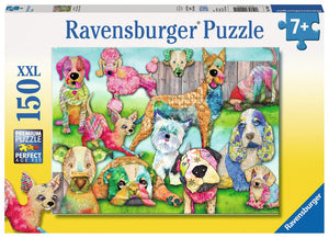 Patchwork Pups 150pc Puzzle