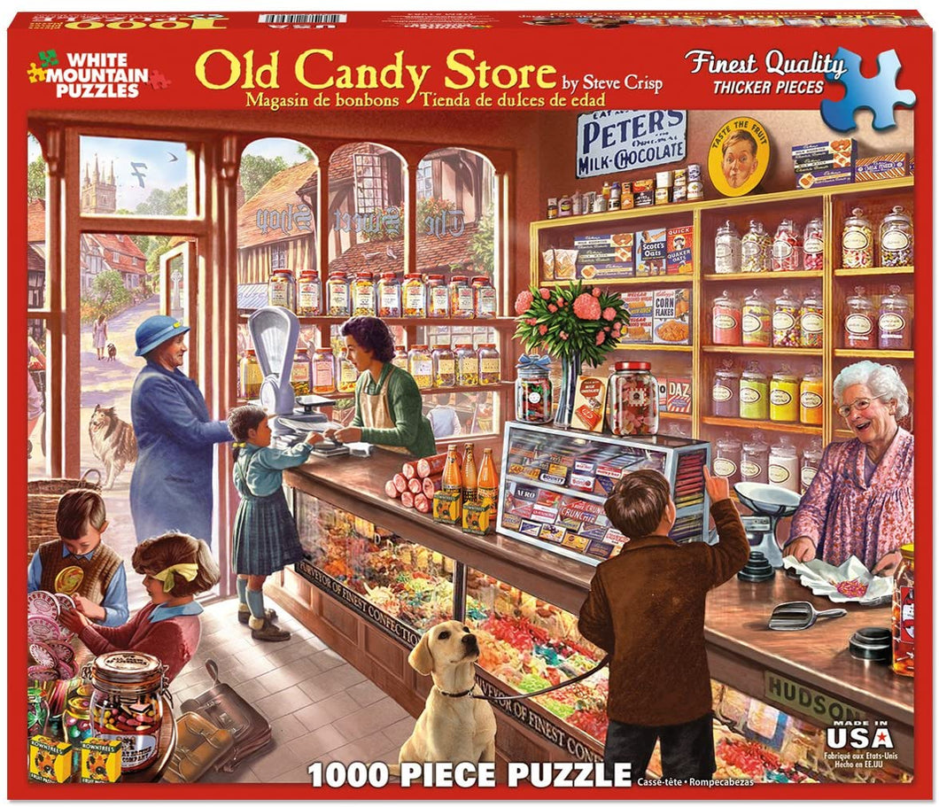 Old Candy Store 1000pc Puzzle