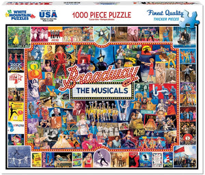 Broadway The Musicals 1000pc Puzzle