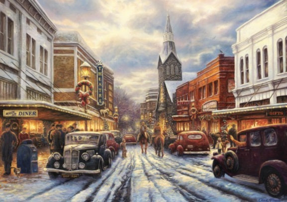 The Warmth of Small Town Living by Chuck Pinson 1000pc Puzzle