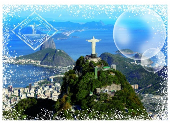 Travel Around the World: Brazil 1000pc Puzzle