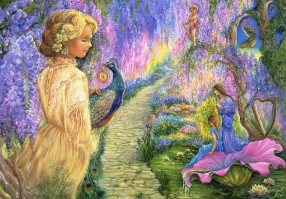 Wisteria Way by Josephine Wall 2000pc