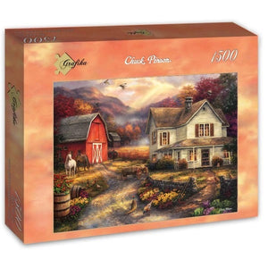 Relaxing on the Farm by Chuck Pinson 1500pc Puzzle