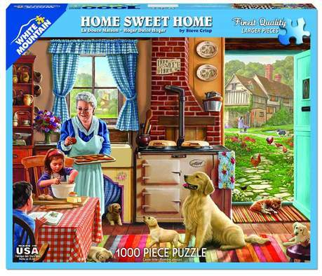 Home Sweet Home 1000pc Large Format Puzzle