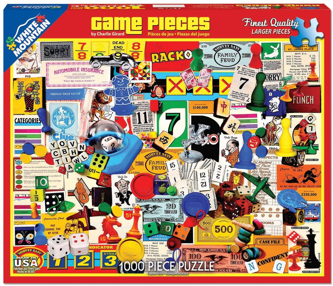 Game Pieces 1000pc White Mountain puzzle