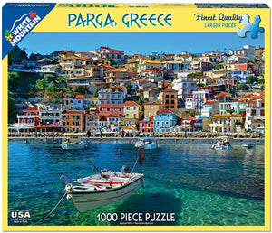 Parga, Greece 1000pc Puzzle