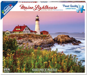 Maine Lighthouse 1000pc Large Format Puzzle