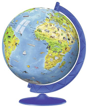 Load image into Gallery viewer, Children's Globe 180pc 3D Puzzle