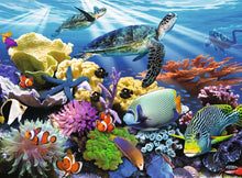 Load image into Gallery viewer, Ocean Turtles 200pc Ravensburger puzzle