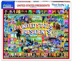 United States Presidents 1000pc Large Format Puzzle