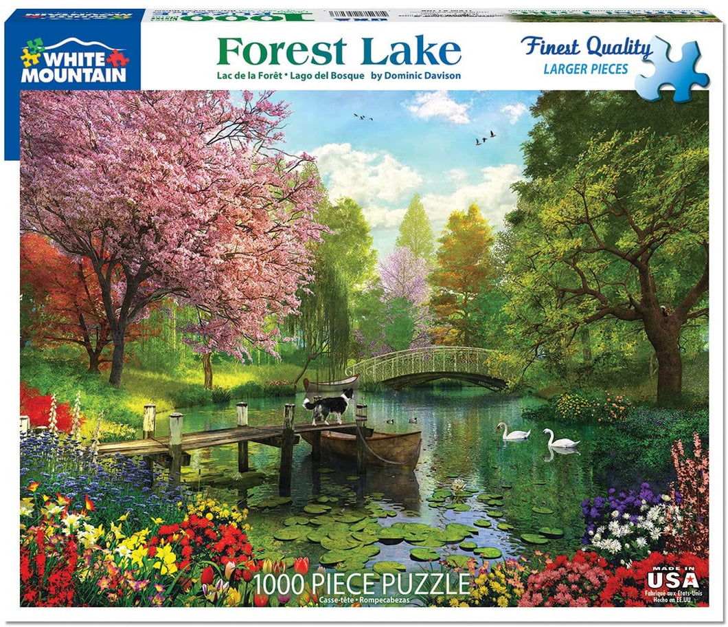 Forest Lake 1000pc Large Format Puzzle