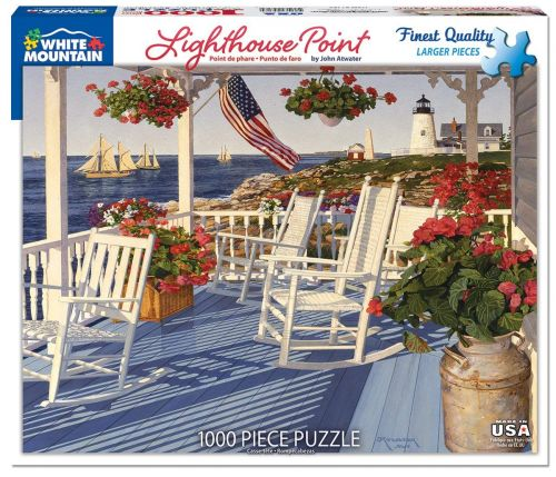 Lighthouse Point 1000pc Large Format Puzzle