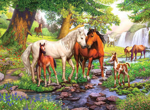 Horses by the Stream 300pc Puzzle