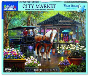 City Market 1000pc Large Format Puzzle