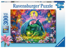 Load image into Gallery viewer, Forest Dragon 300pc Ravensburger puzzle