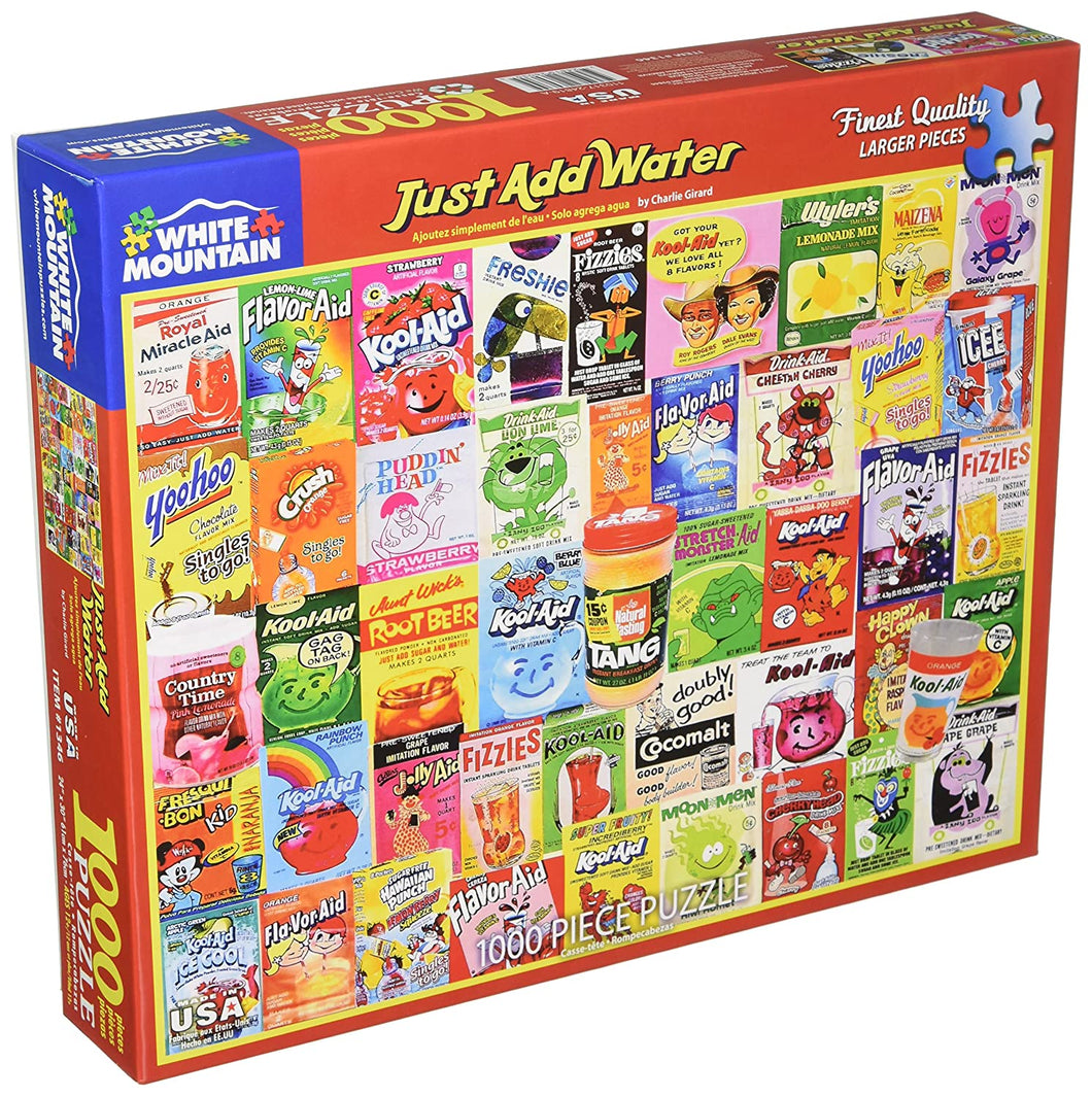 Just Add Water 1000pc Large Format Puzzle