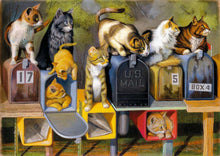 Load image into Gallery viewer, Cat`s Got Mail 300pc Ravensburger puzzle