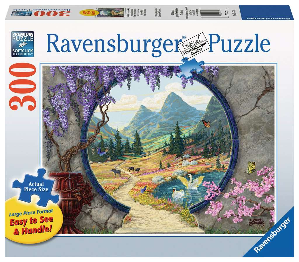 Into a New World 300pc Ravensburger puzzle