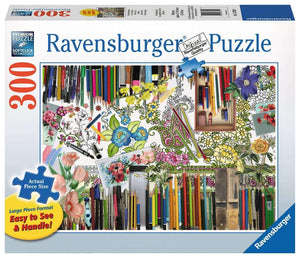 Color with Me 300pc Large Format Puzzle