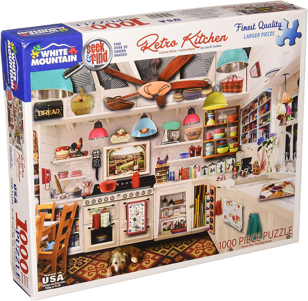 Retro Kitchen Seek & Find 1000pc Puzzle