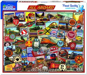 All Aboard 1000pc Puzzle