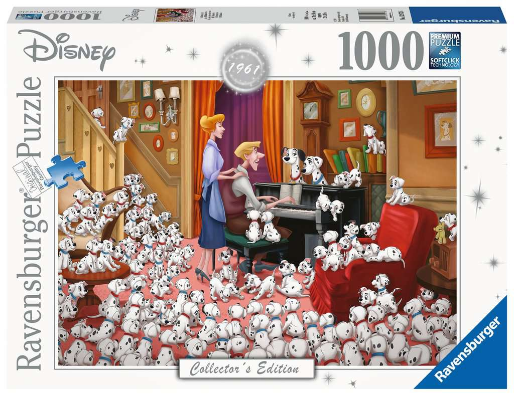 Disney Collector's Edition: 101 Dalmations 1000pc Puzzle
