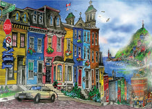 Load image into Gallery viewer, St. Johns, Newfoundland 1000pc Ravensburger puzzle