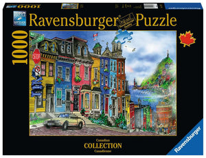 St. Johns, Newfoundland 1000pc Ravensburger puzzle