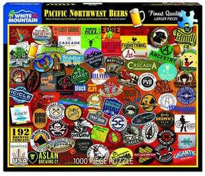 Pacific Northwest Beers 1000pc Large Format Puzzle