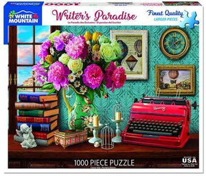 Writer's Paradise 1000pc Large Format Puzzle