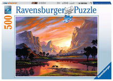 Load image into Gallery viewer, Tranquil Sunset 500pc Puzzle