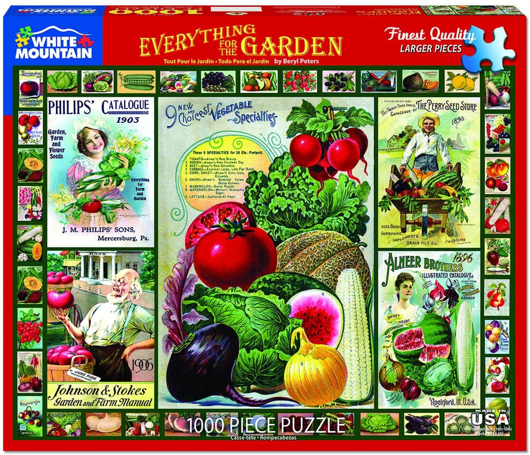 Everything for the Garden 1000pc Puzzle