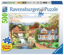 Load image into Gallery viewer, The Fishing Lesson 500pc Ravensburger puzzle