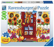 Load image into Gallery viewer, Autumn Birds 500pc Ravensburger puzzle