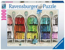 Load image into Gallery viewer, Fantastic Fashionista 1000pc Ravensburger puzzle