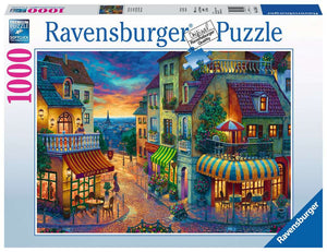 An Evening in Paris 1000pc Ravensburger puzzle